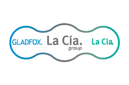 LA CÍA. GROUP = GLADFOX SALES EXPERIENCE RETAIL + LA CÍA. BRANDING & PACKAGING